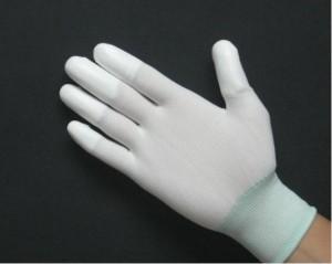 Găng tay tráng pu đầu ngón