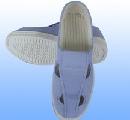 Giày vải bốn lỗ chống tĩnh điện xanh bạt