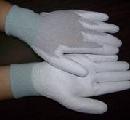 Găng phủ PU lòng bàn tay sợi cacbon