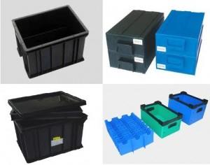 Hộp nhựa đựng sản phẩm chống tĩnh điện – ESD Circulation Box